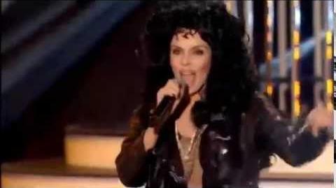 Twoja Twarz Brzmi Znajomo - Agnieszka Włodarczyk jako Cher