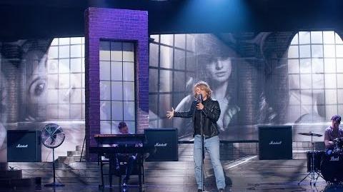 Kasia Popowska jako Jon Bon Jovi Bon Jovi - Twoja Twarz Brzmi Znajomo