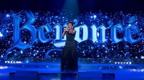 Kasia Popowska jako Beyonce - Twoja Twarz Brzmi Znajomo
