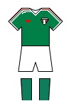 78 mexico national team kit