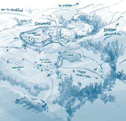 Карта Эдинмайра