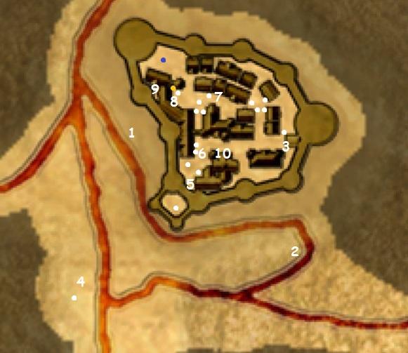 Tharbakin Map