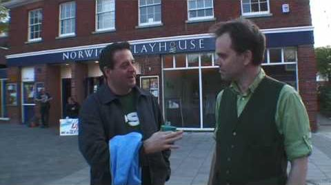 Mark Thomas and Rupert Read agree to take Mark's 'it's the stupid economy manifesto' to Brussels