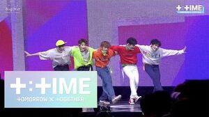 T TIME 'Blue Orangeade' stage @Debut Showcase - TXT (투모로우바이투게더)