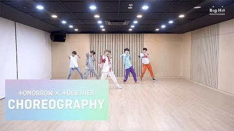 TXT (투모로우바이투게더) 'Blue Orangeade' Dance Practice-0