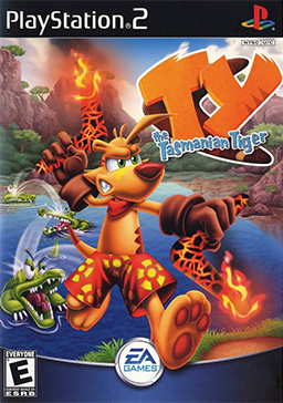 Ty the Tasmanian Tiger Coverart