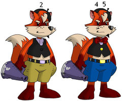 Buck Fox profile