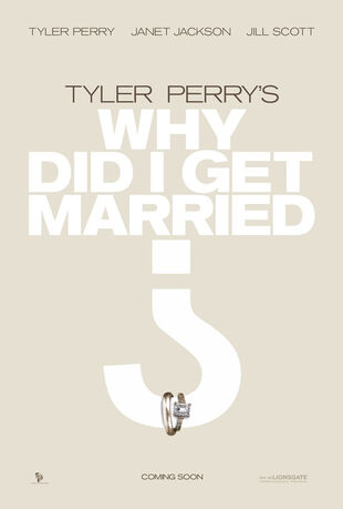 (poster)why did i get married movie poster