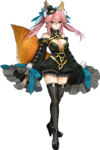 Tamamo no Mae's Jet Black Mage Clothes