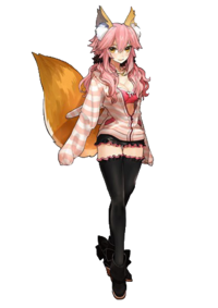 Tamamo no Mae's Sign of Spring's Modern Clothes