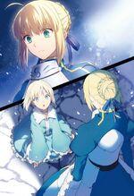 Fate Labyrinth Manaka et Saber