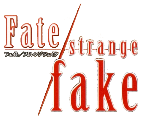 Archivo:Fate strange fake logo.png