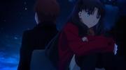 Rin y Shirou en UBW