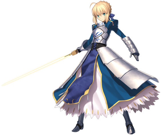 Summoning Fate/Stay Night's Saber in D&D 5th Edition