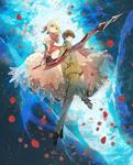 Hakuno y Nero Final de Last Encore 2