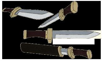 Shiki Ryougi knife