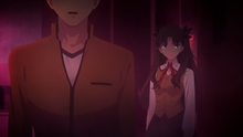 Shirou et Rin retrouvent le cadavre de Rider