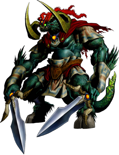 Ganon Artwork (Ocarina of Time)