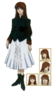 Aoko Tsukihime Anime character sheet