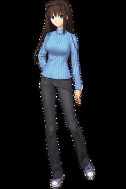 Aozaki Aoko jeans