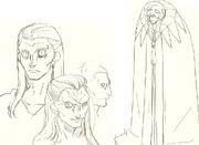Bocetos de Gilles