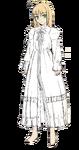 Saber Arturia vestido de una pieza