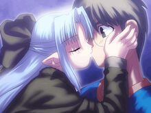 Len embrasse Shinji