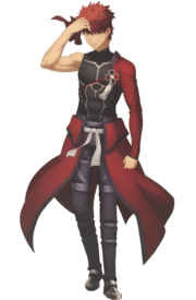 Archer Install Shirou (Anime)