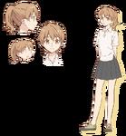 Hoja de personaje de Taiga joven Today's Menu