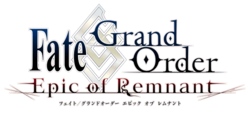 FGO Epic of Remnant logo