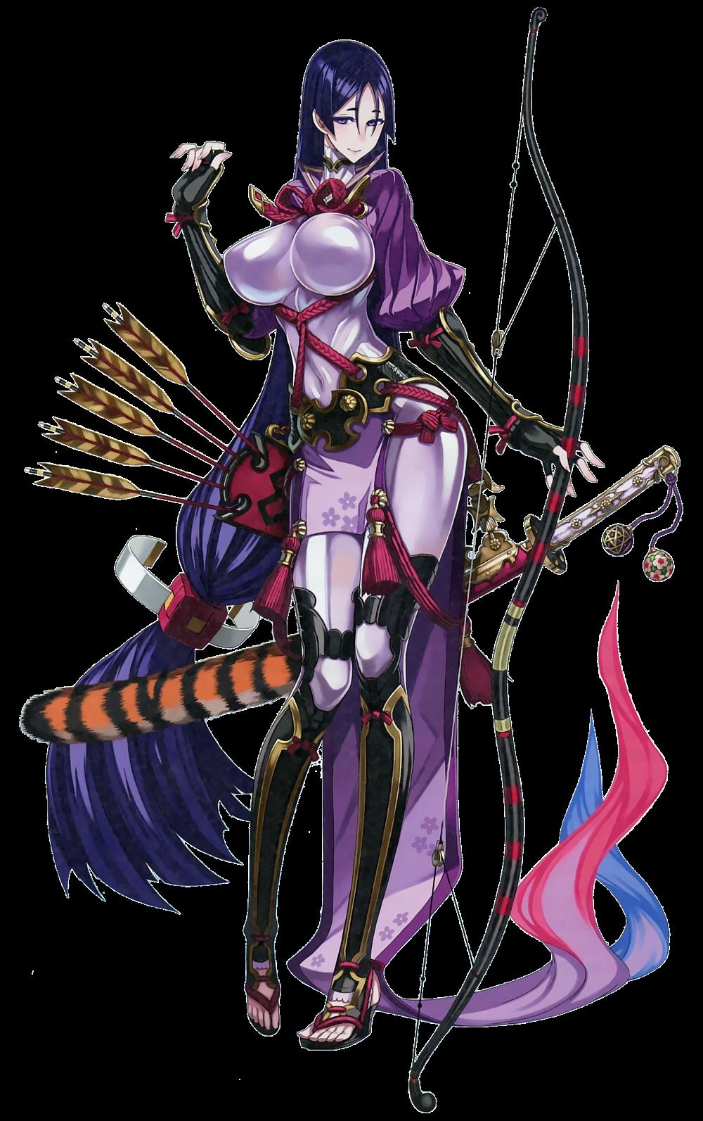Fate Grand Order FGO Duel Collection Figure Miyamoto Raikou