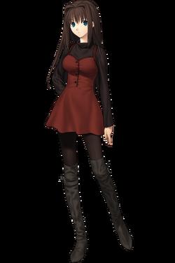 Aozaki Aoko robe