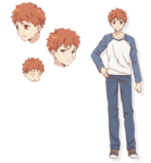 Shirou Character Sheet Emiya-san
