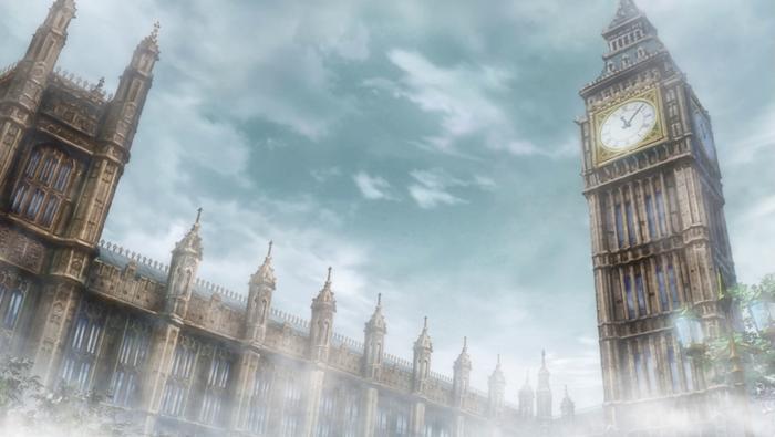 Torre del Reloj Fate Kaleid Liner PRISMA☆ILLYA