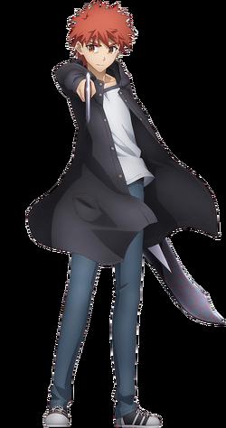 Emiya Shirou Frère de Miyu (Anime)