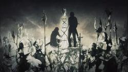 Jeanne d'Arc muerte