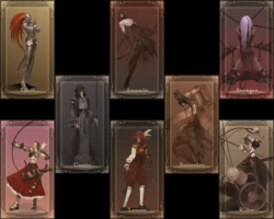 Fate servants card
