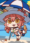 FGO Tamamo no Mae Swimsuit April Fool