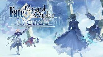 『Fate Grand Order Arcade』PV