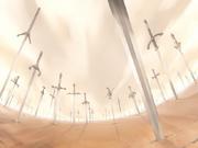 Colina de espadas UBW