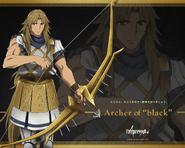 Archer del Negro Wallpaper