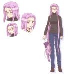 Rider Character Sheet Emiya-san