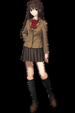 Aozaki Aoko uniforme