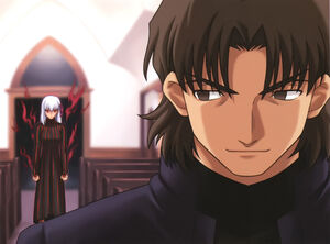 Kotomine Kirei - Fate/stay night - Image #1130468 - Zerochan Anime ...