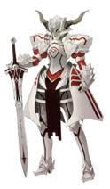 Saber of red armour2