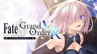 『Fate Grand Order VR feat.マシュ・キリエライト』PV
