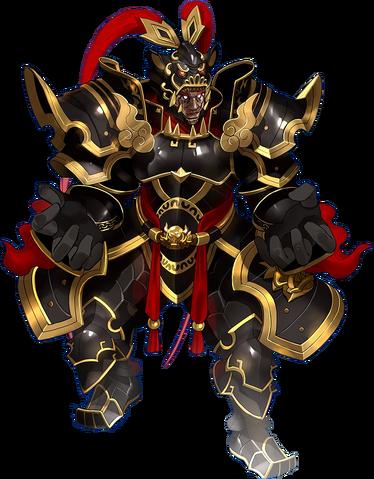 File:Lu Bu's Dark War God Super Frame.png