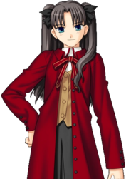 Rin Manteau rouge