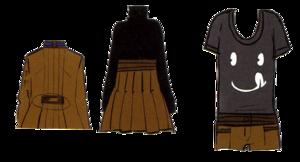 Hakuno Tsukumihara clothing