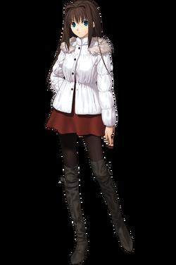 Aozaki Aoko anorak